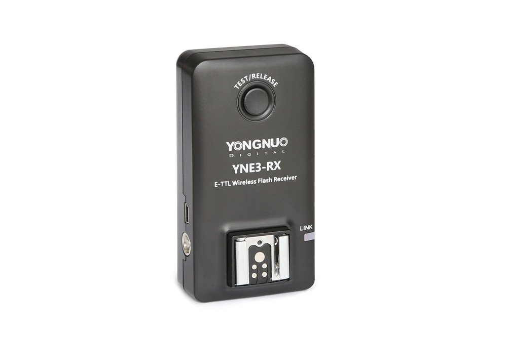 YONGNUO E-TTL YNE3-RX Wireless Remote Flash Receiver for YN-E3-RT/YN600EX-RT/ST-E3- RT/600EX-RT