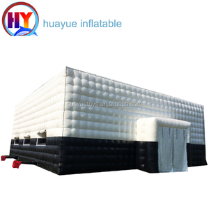 Factory 2018 new inflatable tents for events cube inflatable tent inflatable paintball bunker arena for sale