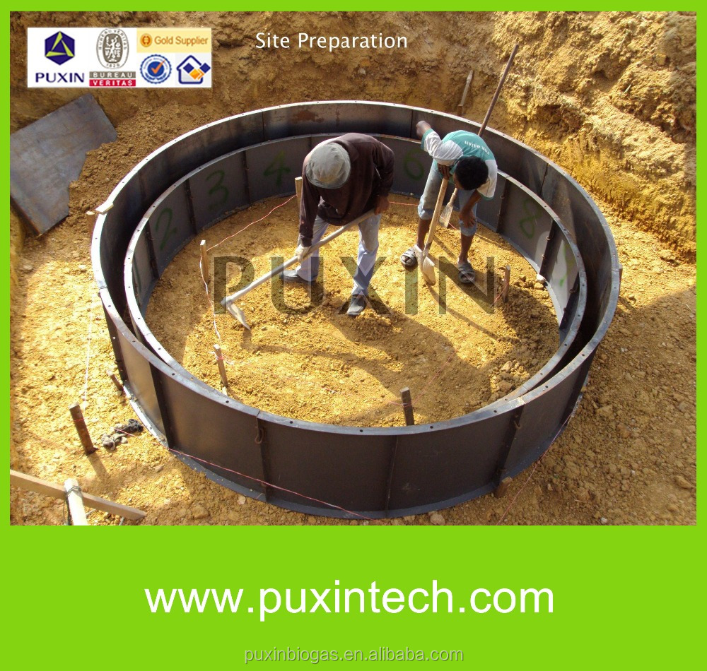 Small Biogas Plant /solid Waste Management /biogas Power Plant ...