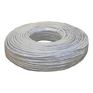 200' ft Cat5e RJ45 Ethernet Network Cable 200 Foot Grey UTP Patch LAN - NEW