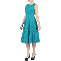 MIKA3023 Women Lace Bonded Fit & Flare Vintage Dress 50s Vintage dress