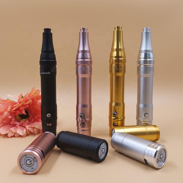 Best New Popular Korea Cosmetic Pmu Mts Semi Micropigmentation Cordless Digital Wireless Tattoo Permanent Makeup Machine