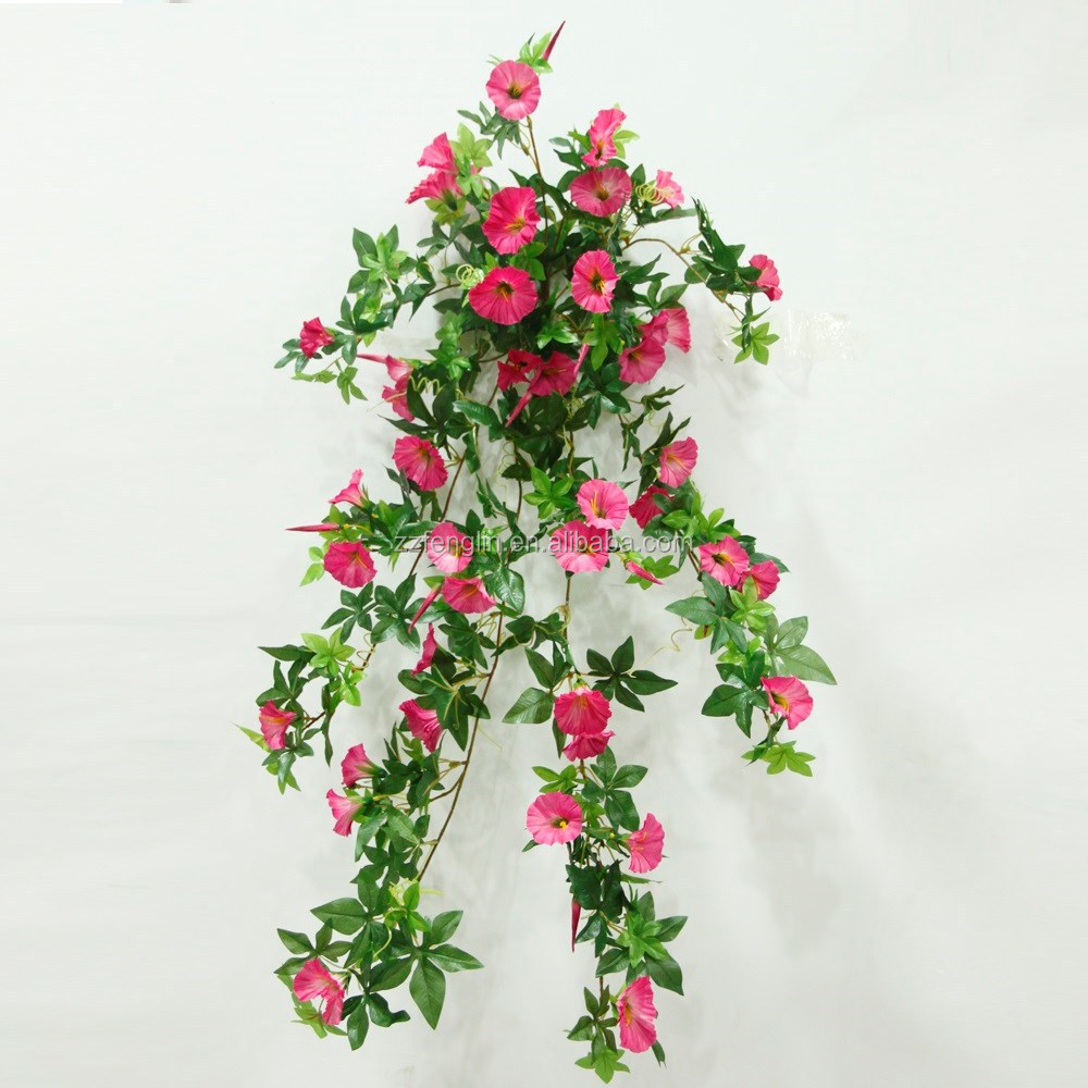 80 CM Artificial Silk Morning Glory Hanging Vines Home Decor