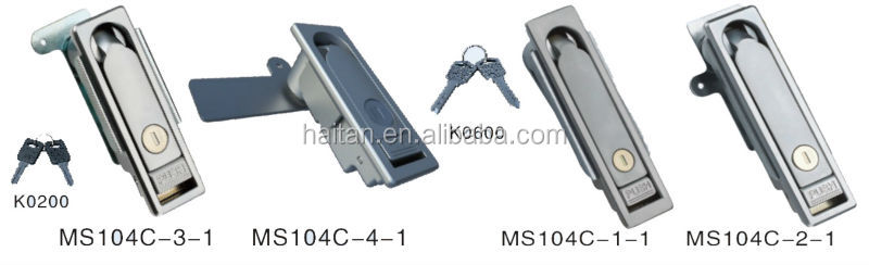 Hengzhu MS104c Tool box swing handle latch Electrical panel door lock