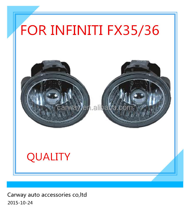 Best selling car fog light for Nissan Infiniti fx35 used