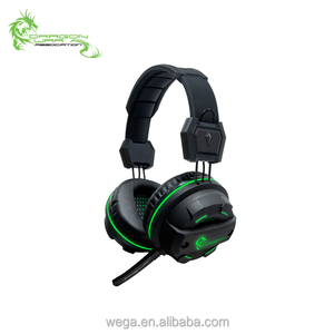 China factory Dragon War Light Effect 7.1 sound effect USB computer PC Gaming Headset