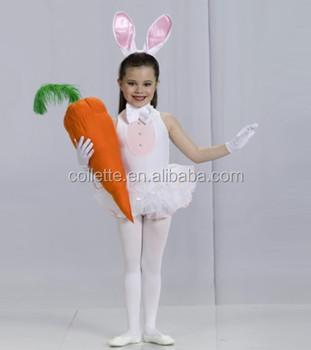 8a8c9e7f4d5a Mb3069 -- Cute Child Velvet Child Leotard White Rabbit Tutu Dress ...