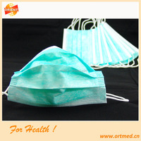 Anti dust disposable non woven face mask for children healthcare