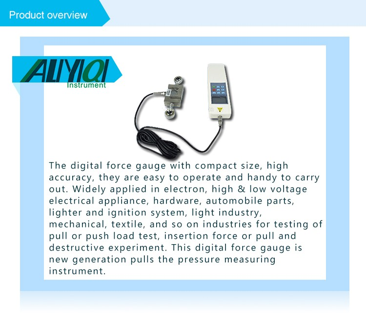 50KN 5000kg 11000Lb High Performance HF digital push pull force gauge price