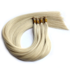 100% human hair high quality popular cheap wholesale 0.5/0.8/1.0g i tip hair extension european