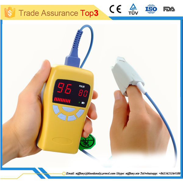 2016 new fingertip pulse oximeter with reasonable price and low MOQ (MSLPO-A)