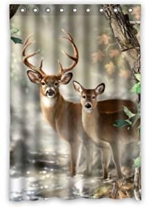 Get Quotations Creative Bath Deer Shower Curtain 48 X