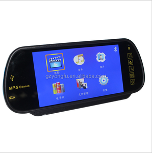 Hot sale 7inch touch screen car rearview mirror monitor with MP5,Bluetooth