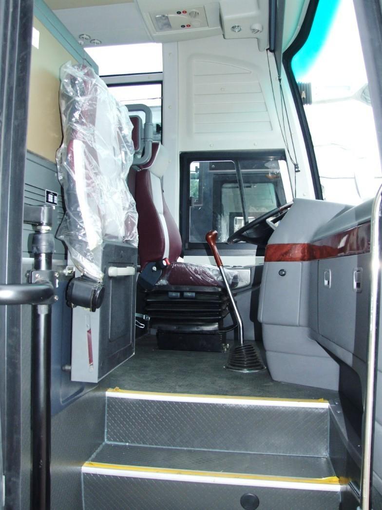 Kia-Grandbird otobüsü: teknik özellikler 7