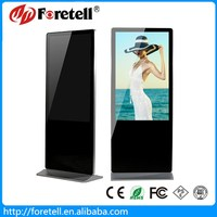 42 47 55 65 inch floor standing lcd advertising display totem touch on sale
