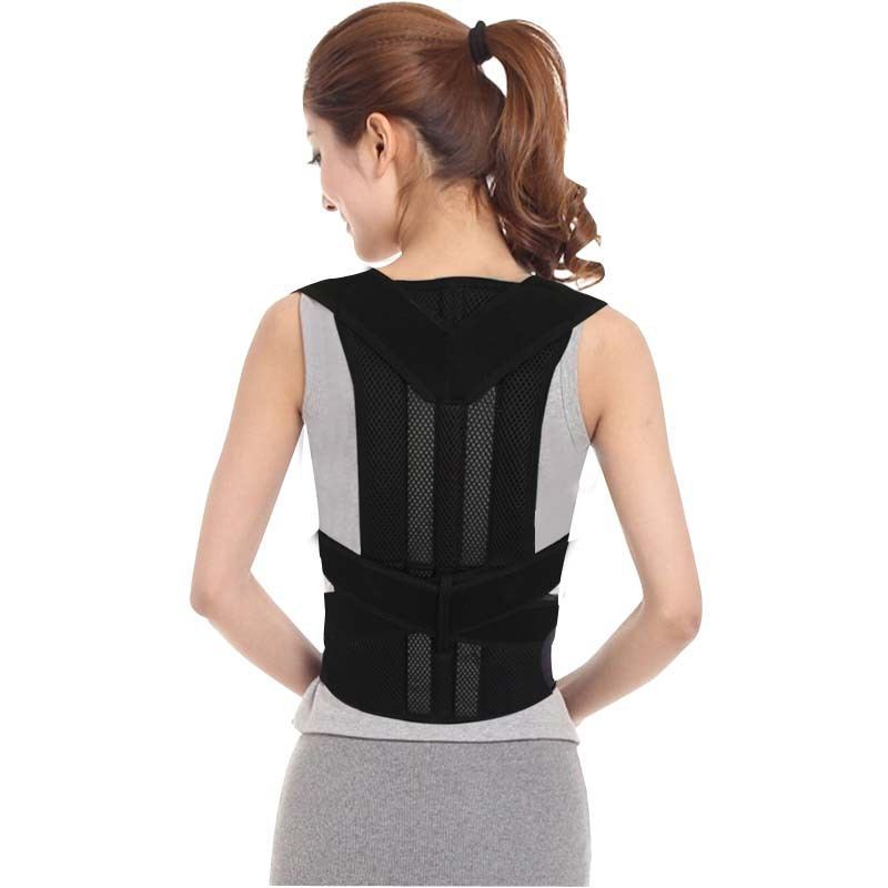Men Women Magnetic Posture Back Support Corrector Belt Band Feel Belt Brace Shoulder Braces & Supports for Sport Safety