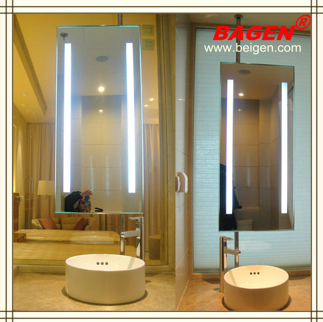 Top quality double side bath mirror, fashion bathroom lighting mirror, decorative mirror for hotels