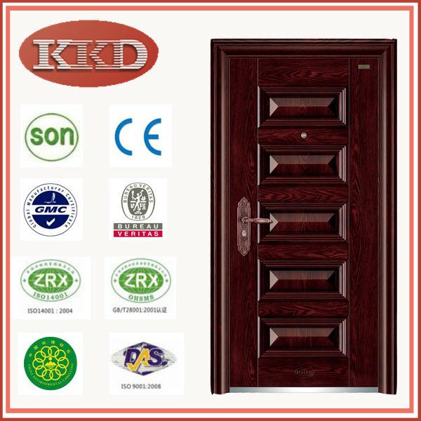 Iran Steel Security Door Kkd-101 From Yongkang