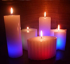 100% nature beeswax candles for the church decorative led