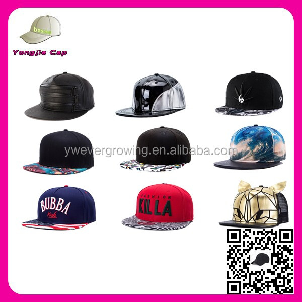 2017 wholesale Design your own high quality 3d embroidery Snapback Caps adjustable cheap snapback cap