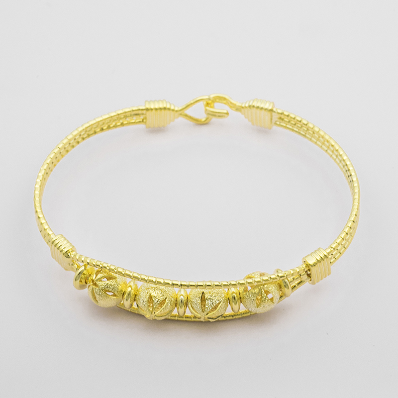 Bracelets & Bangles Hot Sell New Beautiful Fashion 24k Gold Color Bracelet Men Anchor Bijoux Women Factories And Mines