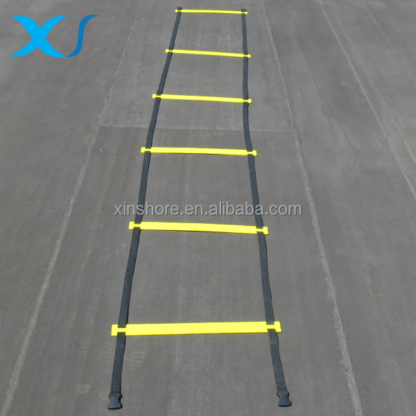 Durable Adjustable Agility Ladder For Agility Speed Training And Fitness Workouts