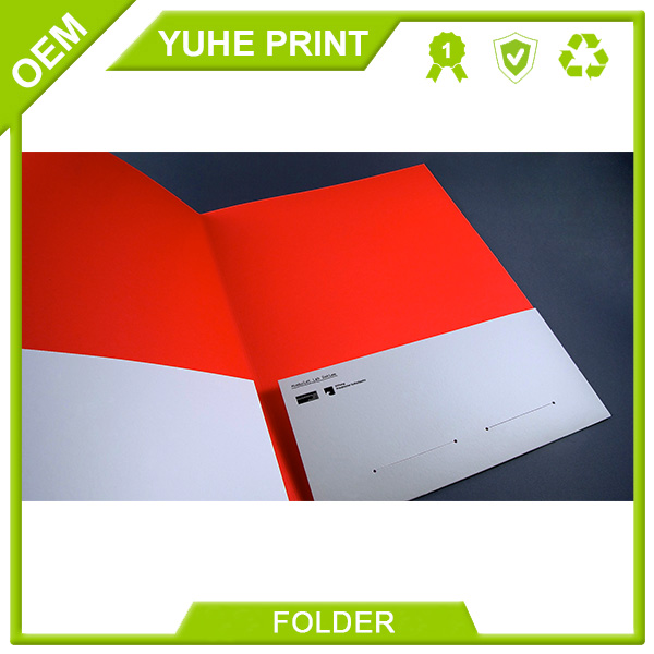 Top quality offset printing low price best selling low cost rope closure file folder