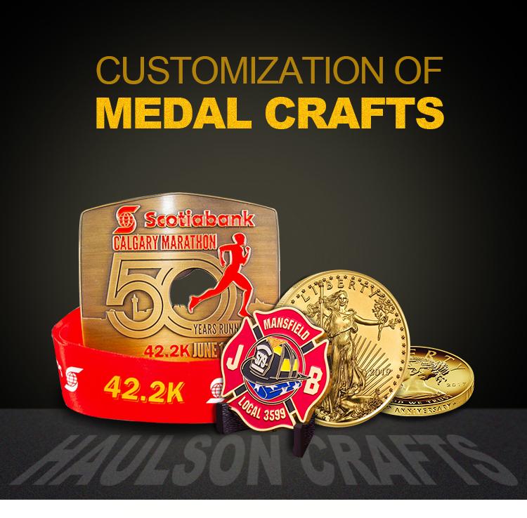 Оптовая продажа от китайского производителя, золотая металлическая 3d спортивная медаль