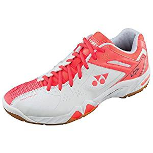 Yonex Women's Power Cushion SHB-SC5 LX Badminton Shoe-Coral Orange by Yonex