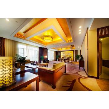 Dubai Four Season Leisure Luxury Elegant 5 Stars Modern Oak Hotel Furniture Simplify Fabric King Size