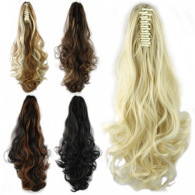 free shipping 2015 curly ponytail hairpiece, synthetic hair ponytail,pony tail hairpieces hair piece extension