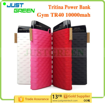 mobile power bank Two USB Output best power bank 10000mah External Battery bank power