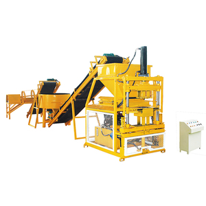 New HBY2 10 Eco Automatic Interlocking Clay Pressed Brick Machine For Small Business