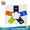 Promotional Gift Adhesive 3m Silicone silicone rubber business card holder for Mobile device and Cell Phone