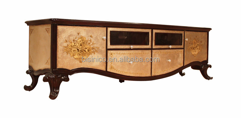 antique retro wood carving tv cabine vintage lacquer wooden tv stand luxury gold lacquer. Black Bedroom Furniture Sets. Home Design Ideas