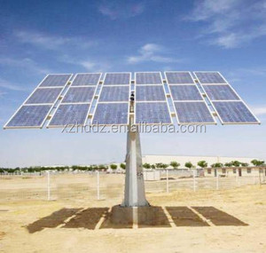 20KW dual axis tracker 20kw solar tracking mount system