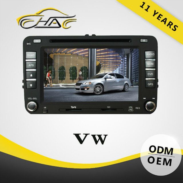 Auto Radio Car DVD For VW Jetta Radio Navigation System With Bluetooth/ USB/ SD/ Rear-view Camera