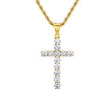 2019 Shopping Site Chinese Online Stijlvolle Sparkle Zirconia Cross <span class=keywords><strong>Hanger</strong></span>