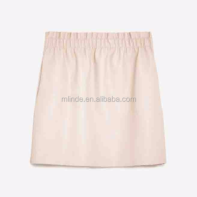 Women Fashion Summer Faux Leather Mini Skirts for Girls Clothing Very Very Short Mini Skirts