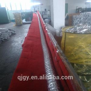 Highly flexible ducting canvas for HVAC