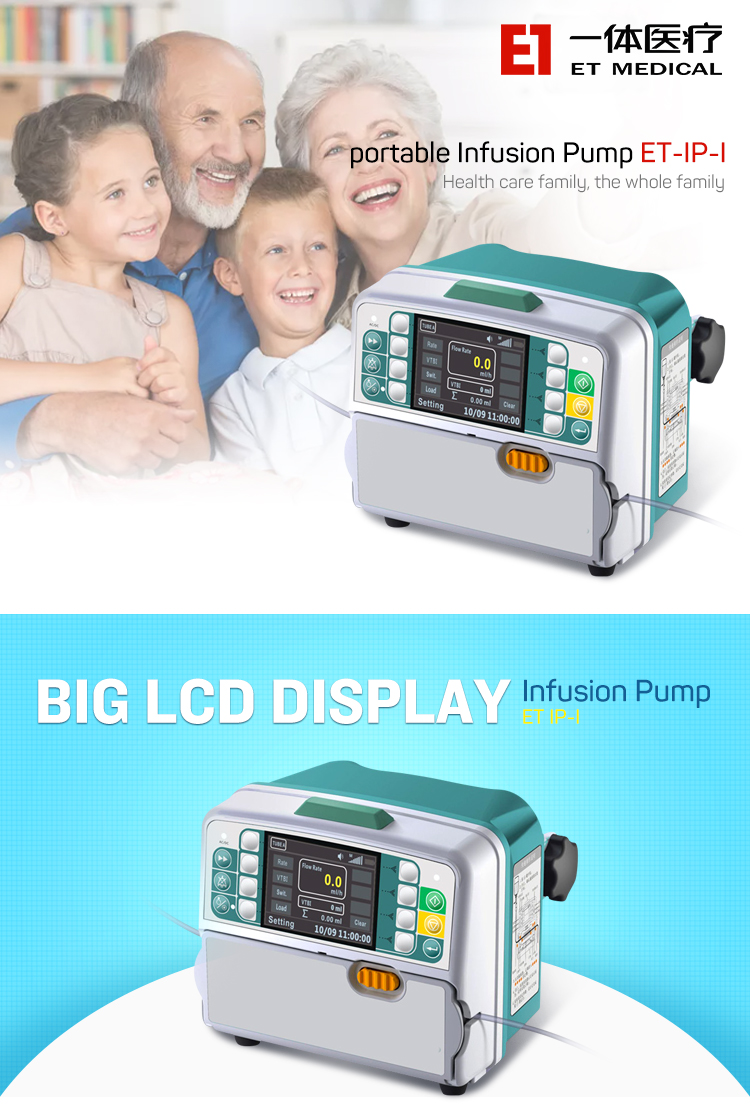 ET-IP-I hot sale portable Infusion Pump