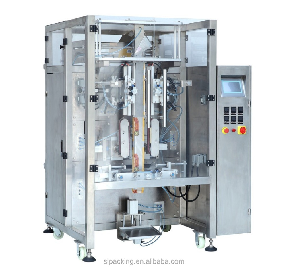 automatic cornstarch vertical form fill seal packing machine