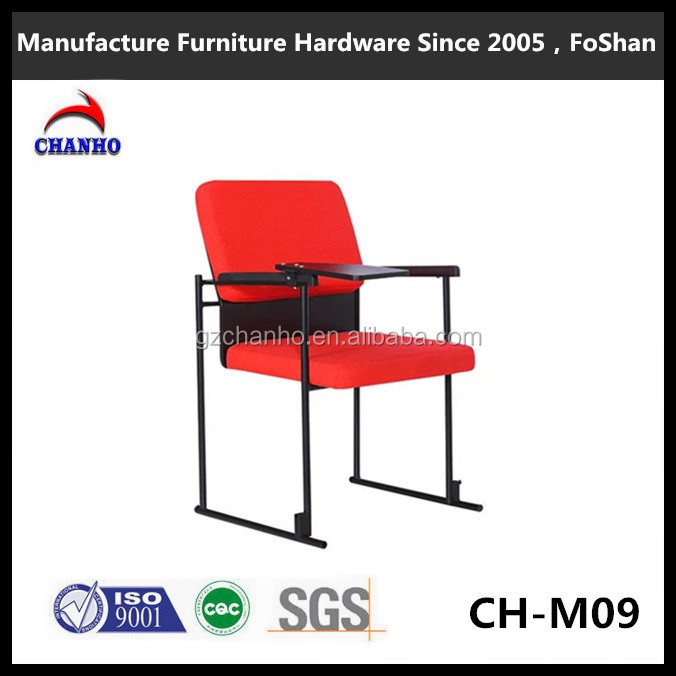 Foshan Factory Supply Export Thick Office Furniture Conference Training Chair With Tablet Arm CH-M09