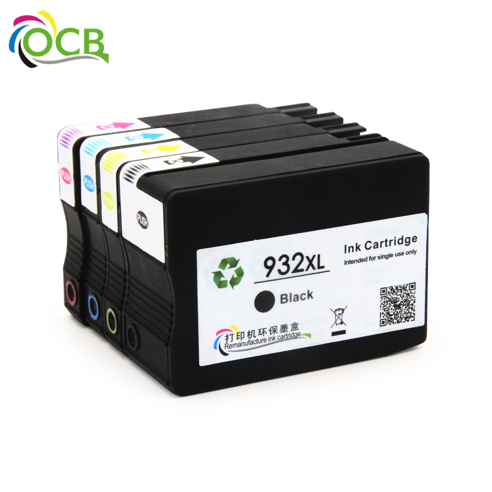 Ocbestjet For HP 932 XL 933 XL Compatible Ink Cartridge For HP Officejet 6700 Premium e-AIO Printer Ink Cartridge