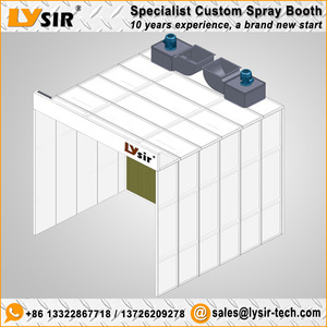 LYSIR Paint Booth/Open Face Dry Spray Booth/Dry Type Spray Booth