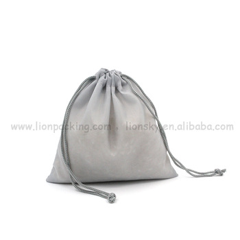 Festival polyester round small drawstring pouch 와 logo printing