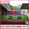 commercial inflatable slide combo,inflatable floating slide,hot inflatable slides