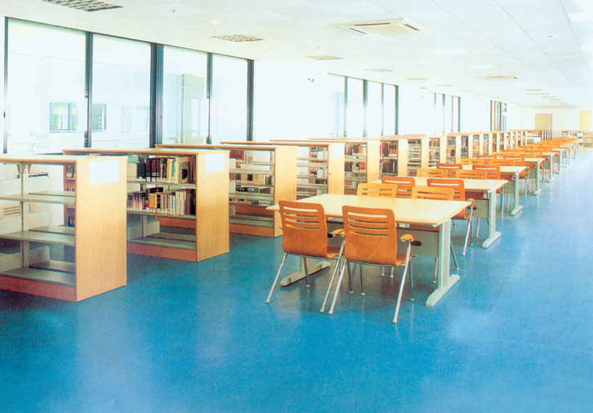 School Library Furniture Steel Study Table And Chair - Buy Study ...