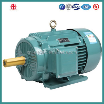 300hp Light Weight Electric Ac Induction Motor
