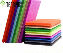 Asia market China good price factory production gymnasium wall decoration polyester fiber acoustic panel